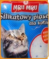 Żwirek Silikonowy dla kota MRU MRU